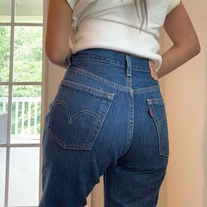 Levi's 501 High waisted mom jeans